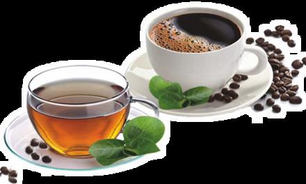 Estudiar con café o té